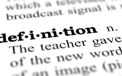 The Surprising Benefits of Definition